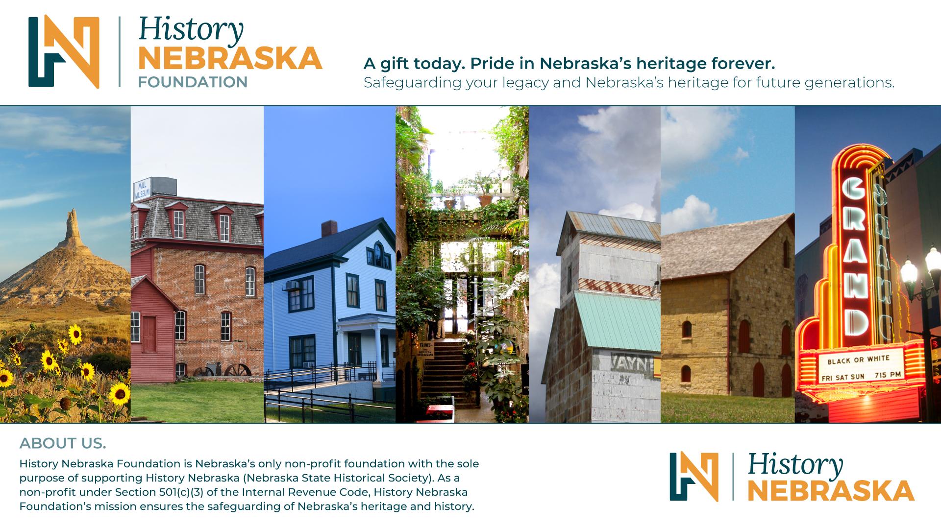 History Nebraska Foundation Home